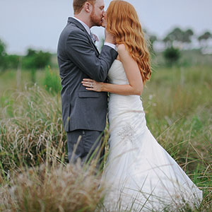 A peek at Ashley & Randy . Space Coast wedding photographer