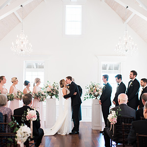 Cady & Brett married at The White Room in St. Augustine, FL